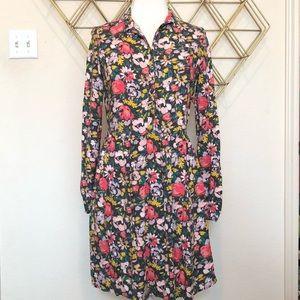 Dresses & Skirts - Trendy Floral Long Sleeve Dress